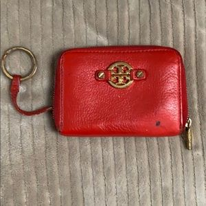 Tory Burch key chain wallet